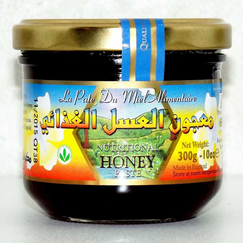 Pâte de miel alimentaire