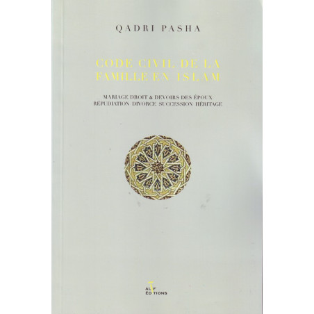 Code civil de la famille en islam de Qadri Pasha