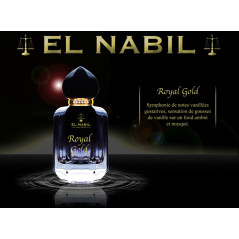 EL NABIL Royal gold luxury perfume 50 ml