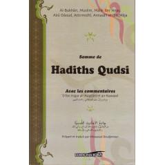 Somme de Hadiths Qudsi avec les commentaires d'Ibn Hajar al-Asqalani et An-Nawawi, Editions Iqra