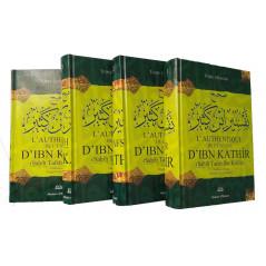 L'Authentique de l'Exégèse d'Ibn Kathîr (Sahîh Tafsîr Ibn Kathîr)4 tomes,l'édition critique Mustafâ Ibn Al-'Adawî, version Fr