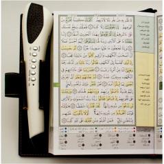 Coran tajwid et mémorisation avec stylo et carte