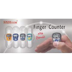 Chapelet electronique musulman - Compteur de doigt - Tasbih