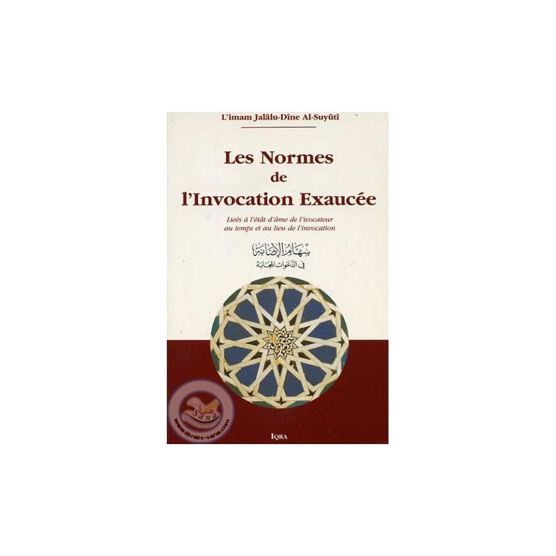 Les normes de l'Invocation Exaucée sur Librairie Sana