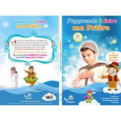 """Livre """"J'apprends à faire ma Prière"""" pour garçon (Sana Edition)"""