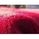 Tapis de Prière Velours Luxe couleur uni - ROUGE ESPAGNE