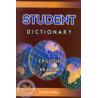 Dictionnaire Student Dictionary EN/AR sur Librairie Sana
