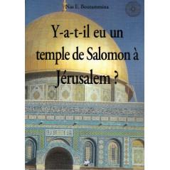 Y-a-t-il eu un temple de Salomon à Jérusalem ?, de Nas E. Boutammina