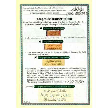CORAN AL-TAJWID -JUZZ TABARAK-traduction et phonétique en français