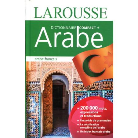 """Dictionnaire """"COMPACT+ ARABE"""" -(arabe-frainçais) Larousse 200000 mots"""