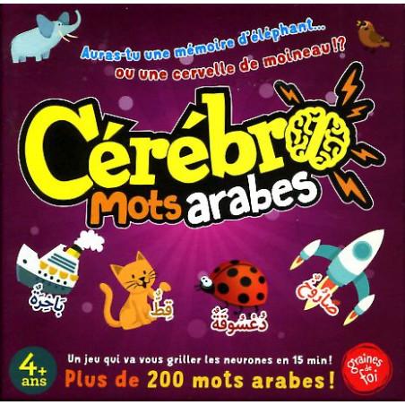 Cérébro Mots arabes - Jeu de société de stimulation de la mémoire et la concentration