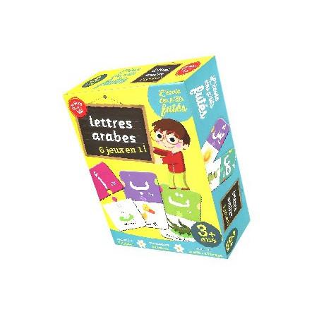 Lettres arabes - 6 jeux en 1 ! - Jeu de société - dès 3 ans