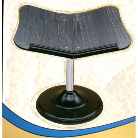 Pupitre - Porte Livre sur pied métallique - posture assise au sol