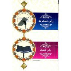 Porte Coran sur pied métallique - posture assise au sol