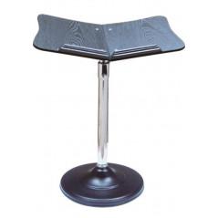Pupitre - Porte Livre sur pied métallique - posture station debout ou assis