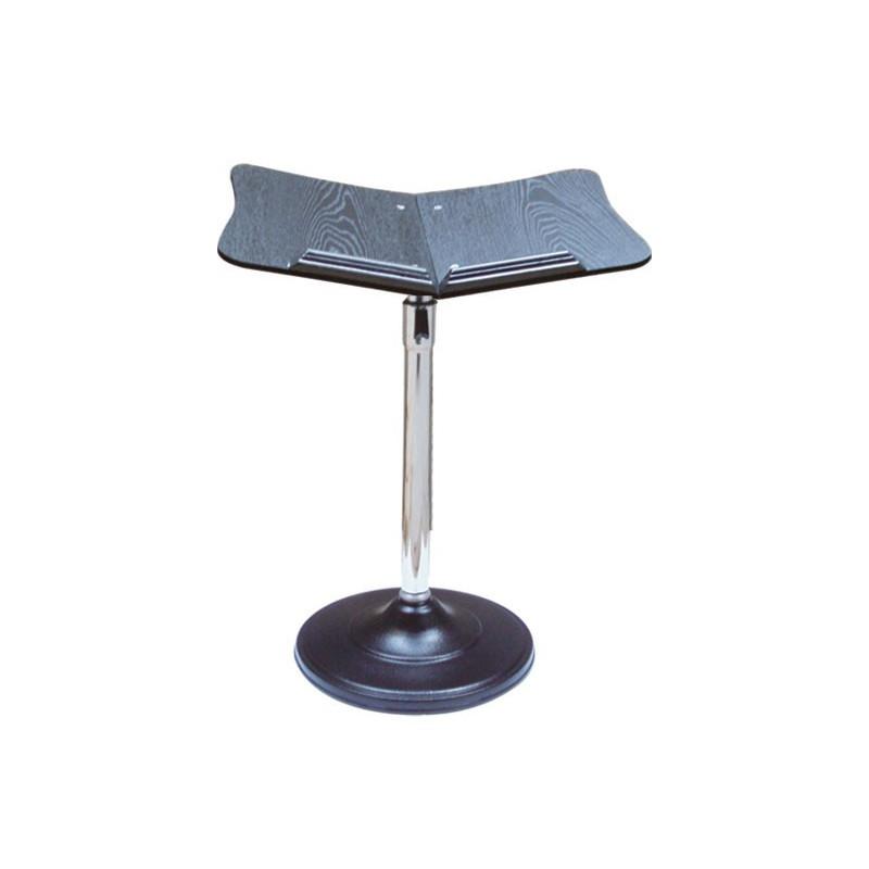 Porte Coran sur pied métallique - posture station debout ou assis
