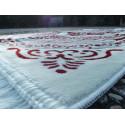 Tapis de Prière épais & grande taille - COULEUR ROUGE