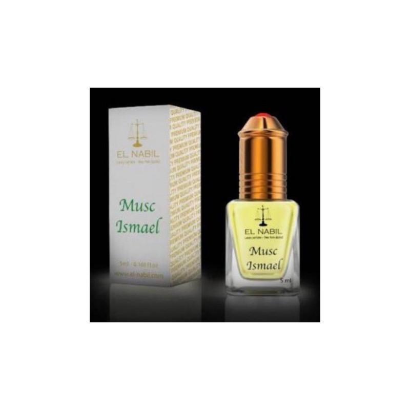 El Nabil Musc Ismael– Parfum concentré sans alcool pour homme- Flacon roll-on de5 ml
