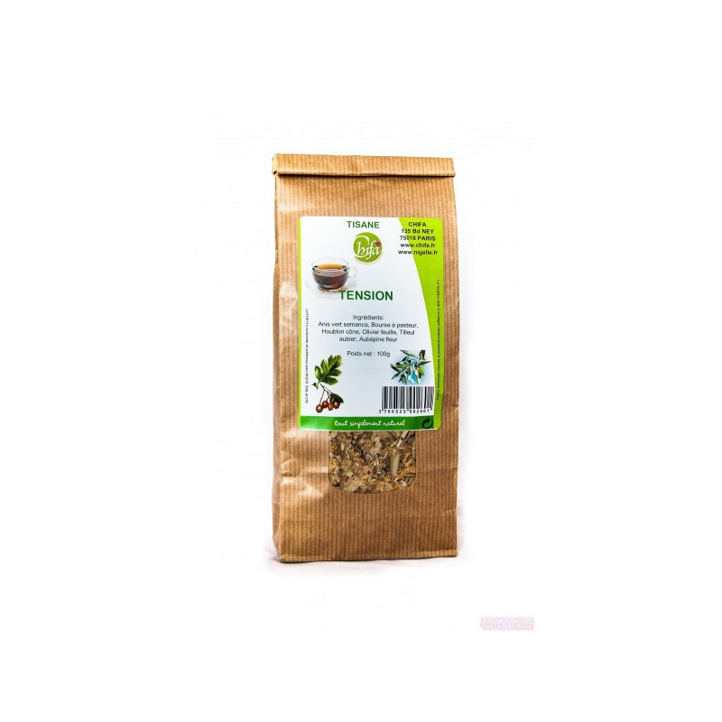 Tisane tension- Sachet de 100 g- Chifa