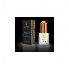 El Nabil Musc Velvet – Parfum concentré sans alcool pour homme- Flacon roll-on de5 ml