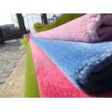 Tapis de Prière Velours Luxe couleur unie - VERT PASTEL