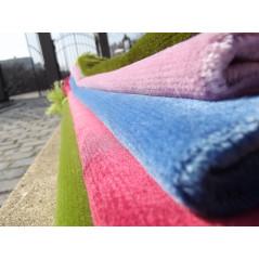 Tapis de Prière Velours Luxe couleur unie - VERT KAKI