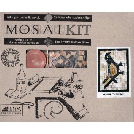 Mosaikit- Oiseau: Construisez votre mosaïque antique