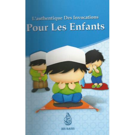 L'authentique des invocations pour les enfants (Français, Arabe, Phonétique), صحيح الأذكار للأولاد الصغار، فرنسي- عربي