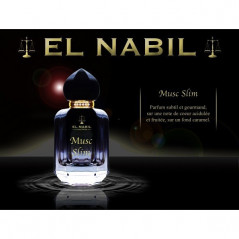 Parfum El Nabil - Musc Slim - Spray 50 ml - Eau de parfum Mixte