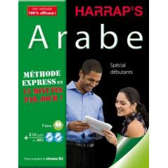 HARRAP'S Méthode Express Arabe, Coffret ( 1 livre + 2 CD), Spécial débutants, pour acquérir le niveau B2