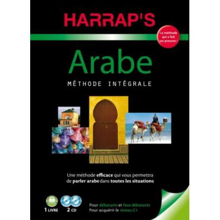 HARRAP'S Méthode Intégrale Arabe, Coffret ( 1 livre + 2 CD), pour débutants et faux débutants, pour acquérir le niveau C1