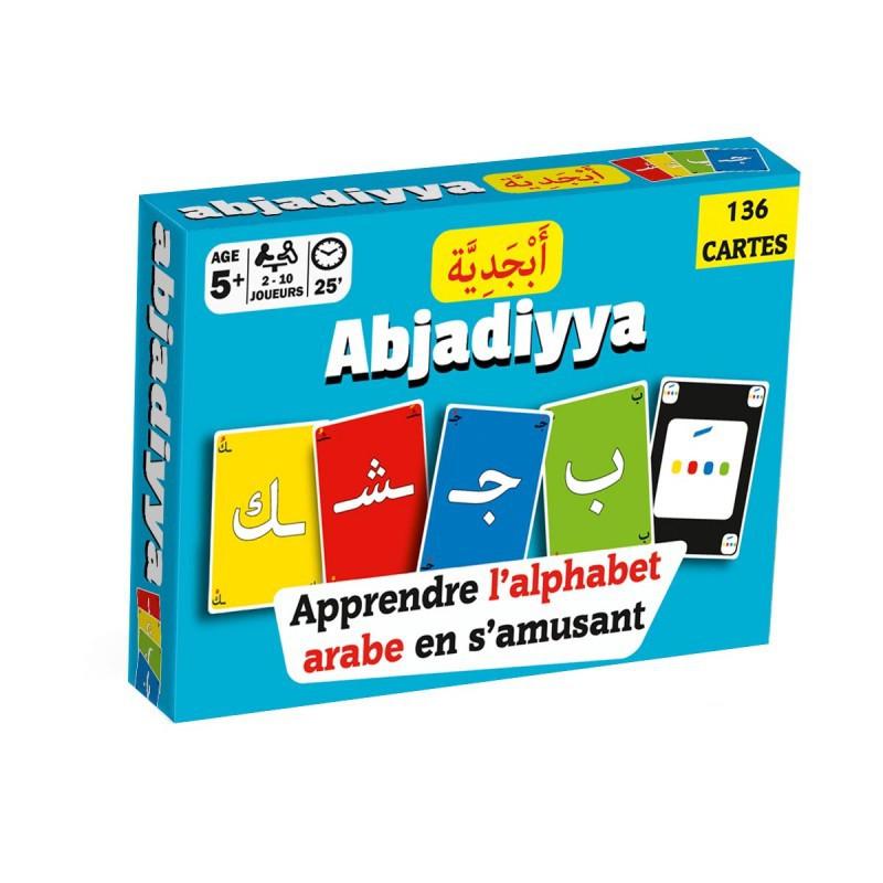 Jeu de cartes Abjadiyya: Apprendre l'alphabet arabe en s'amusant
