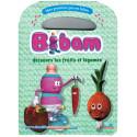 Bibam découvre les fruits et légumes sur Librairie Sana