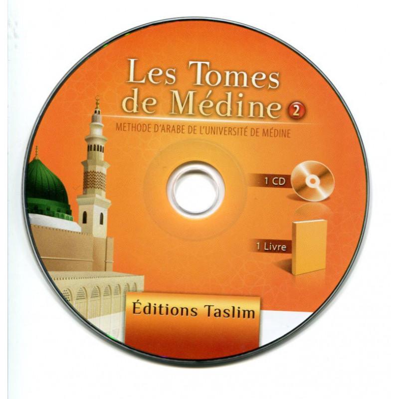 CD audio Les tomes de Médine, Volume 2 - Editions TASLIM