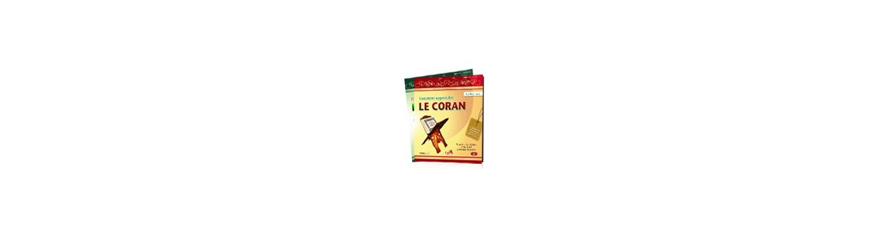 Collection comment apprendre le Coran