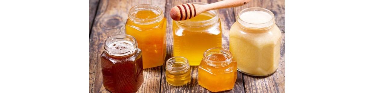 Les Miels et les additifs alimentaires