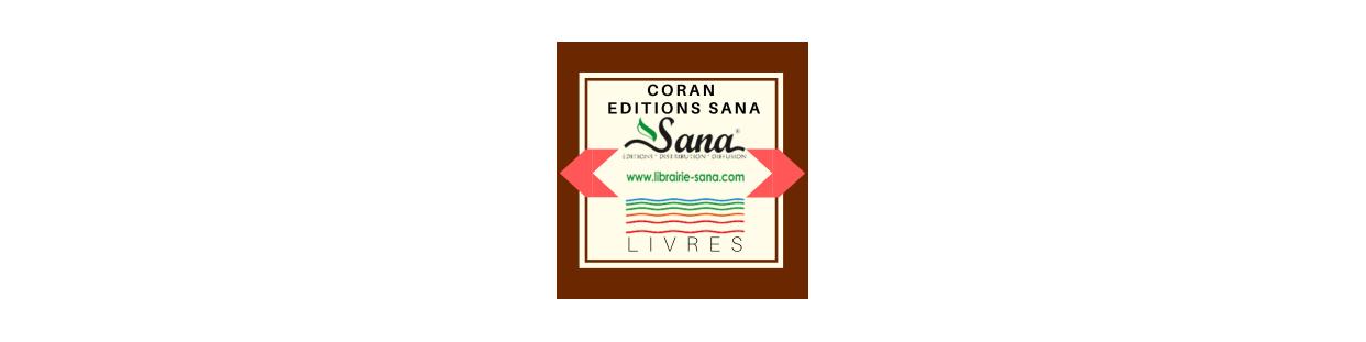 Le Coran : Edition Sana
