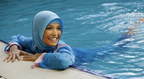 Maillot de bain islamique femme